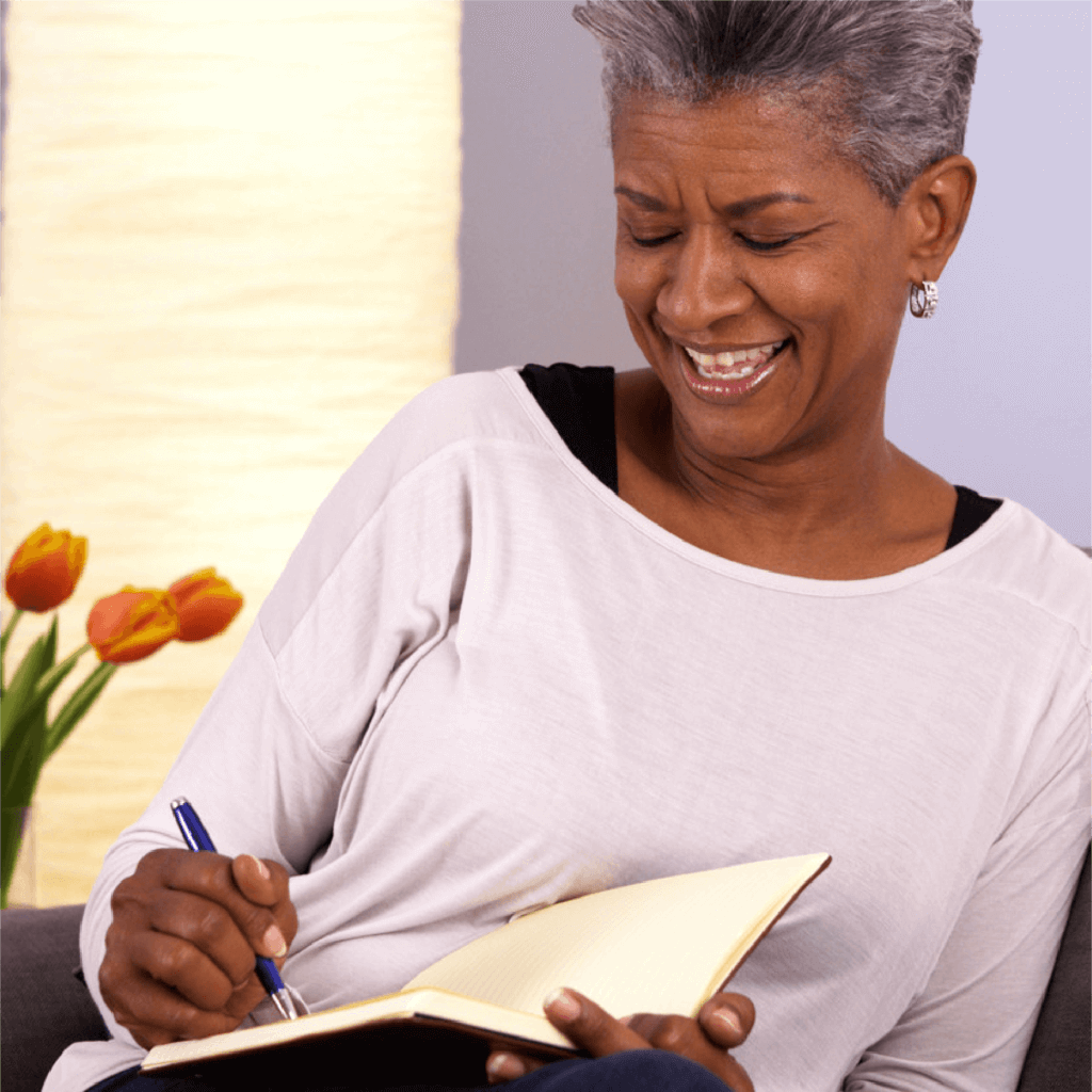 Journaling-Woman