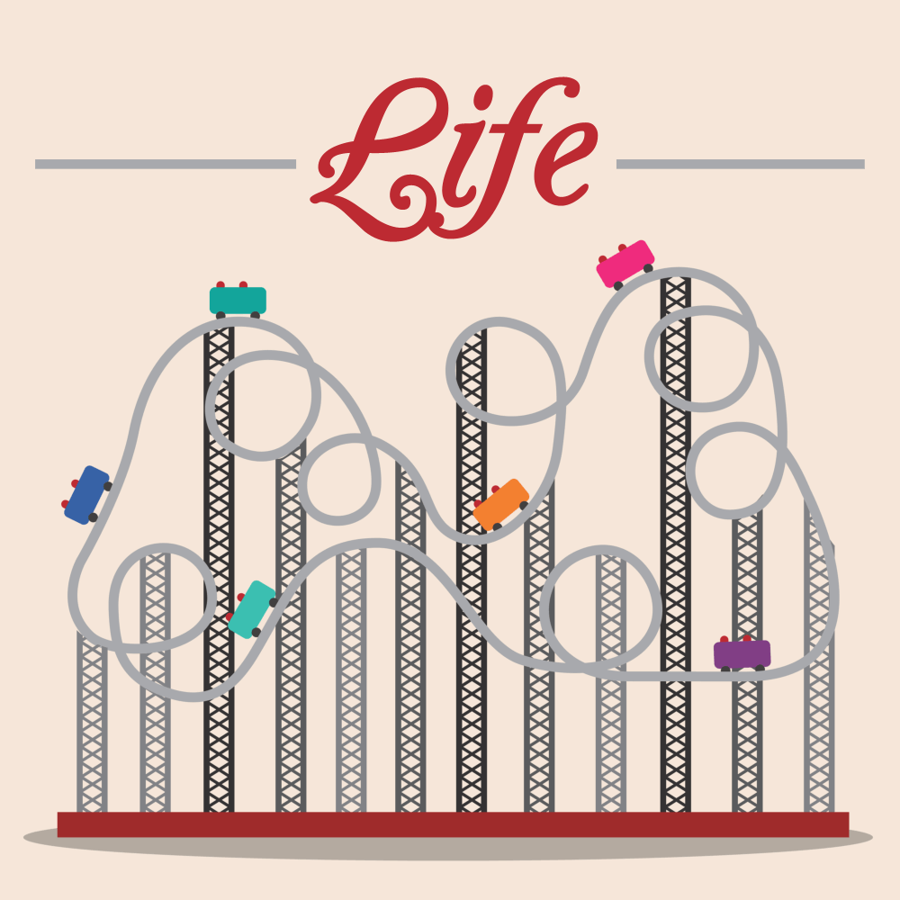 Roller-Coaster-of-Life