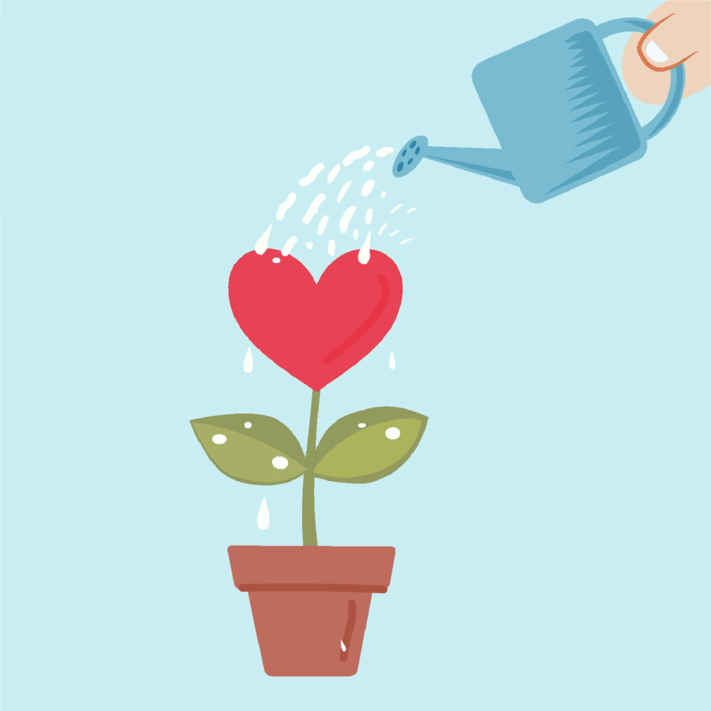 Self-Care-Watering-Heart