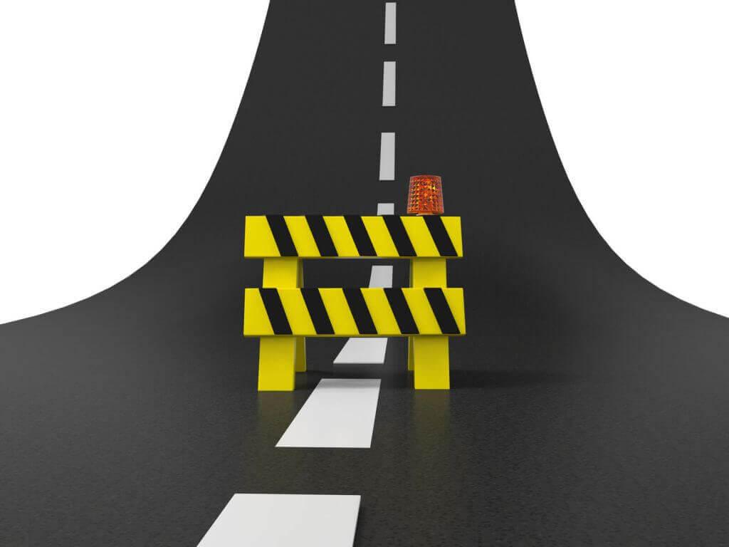 Road Block for Leaders