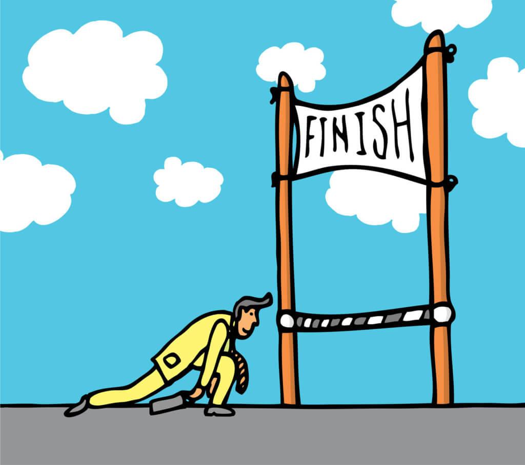 Follow Through Finish