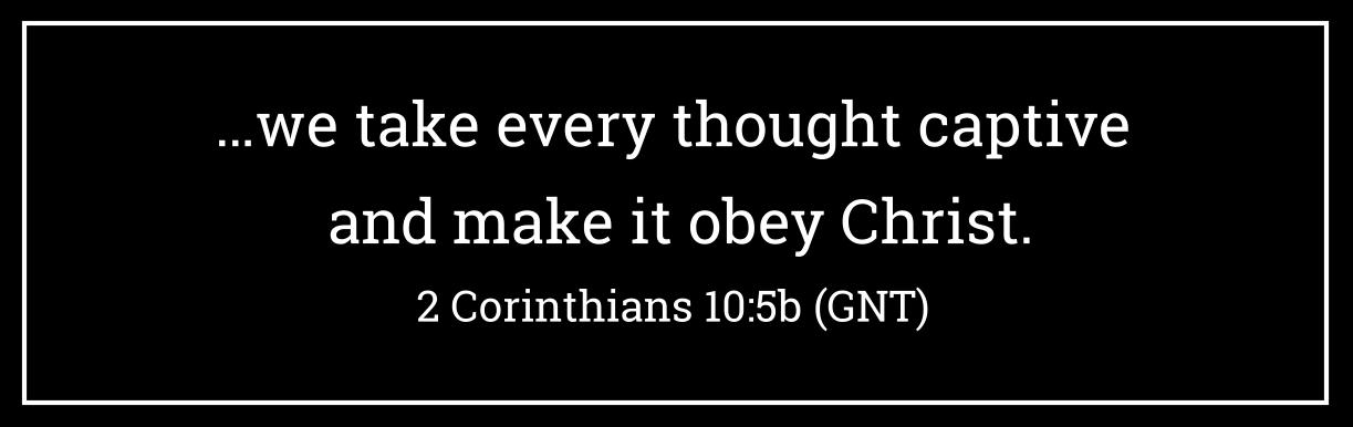 2 Cor 10-5b